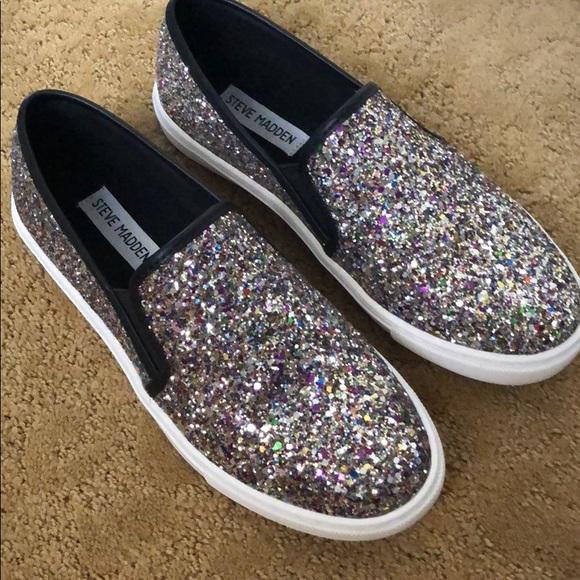 Steve Madden Glitter Shoes